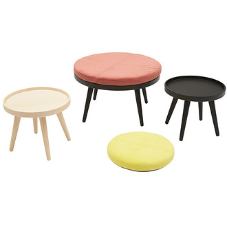 Charlotte Høncke Alma Pouf-Coffee Table