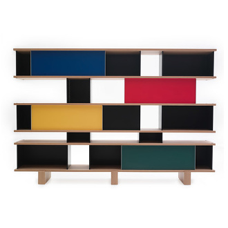 Charlotte Perriand Nuage Bookshelf and Cupboard