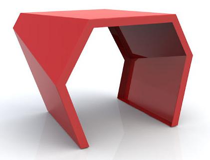 Chris Kabatsi Pac Side Table