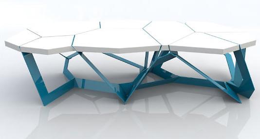 Chris kabatsi quadra table for Table titanium quadra 6