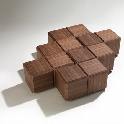 T. Colzani Block Coffee Table