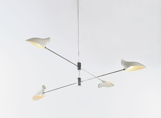 David Weeks Cross Cable Mobile No. 407 Lamp