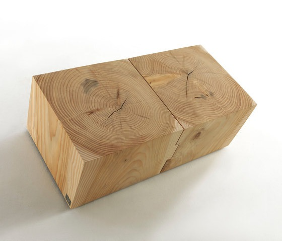 Davide Riva and Maurizio Riva Eco Block Table