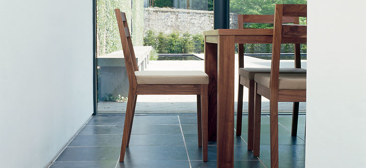De La Espada Minimal Dining Chair