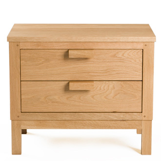 De La Espada Weekend 2 Drawer Bedside Chest