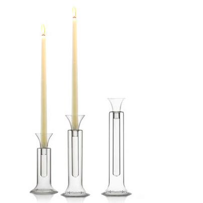 De Padova Glass Candlestick