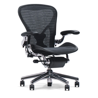 Don Chadwick and Bill Stumpf Aeron Chairs