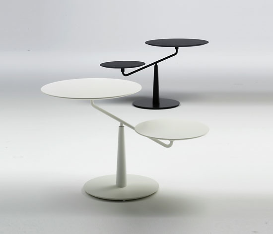 Paolo Lomazzi and Donato D'Urbino Saturno Side Table