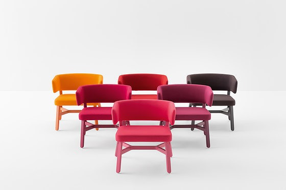 Emilio Nanni Croissant Seating Collection