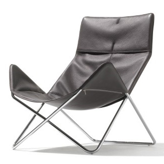 Eric Degenhardt In-out Leather Easychair