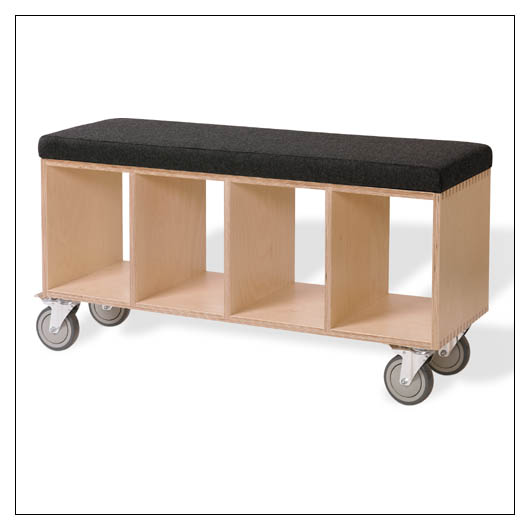 Eric Pfeiffer Bench Box With Pad