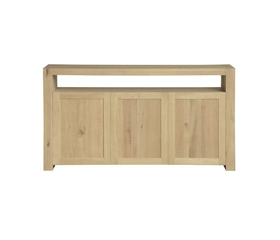 Ethnicraft Oak Double Sideboard