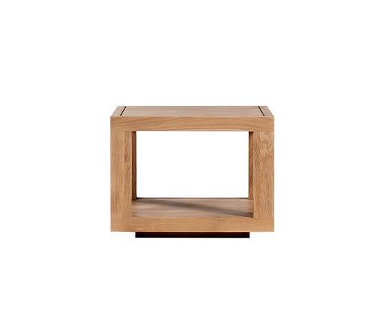 Ethnicraft Oak Duplex Table Collection