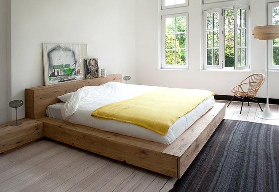 Ethnicraft Oak Madra Bed