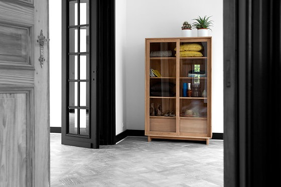 Ethnicraft Oak Wave Storage Shelf