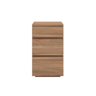 Ethnicraft Teak Bathroom Square Drawer Sideboard