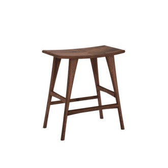 Ethnicraft Walnut Stool