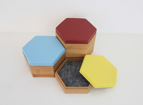 Evie Group Hex Boxes Box Collection