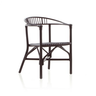 Expormim Rattan 70s Reedited Altet Dining Armchair