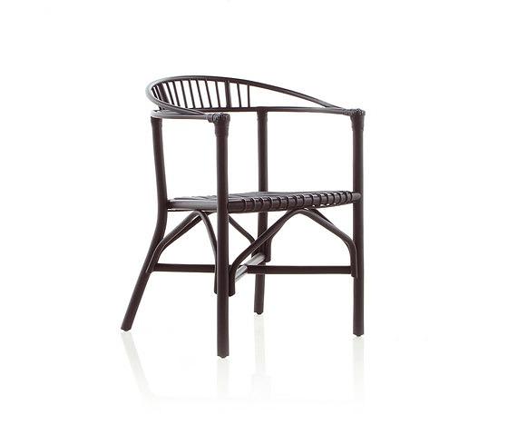 Expormim Rattan 70s Reedited Altet Dining Armchair