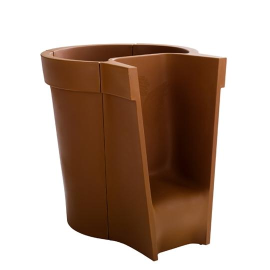 Fabio novembre 13 modular pot with seat for Fabio novembre