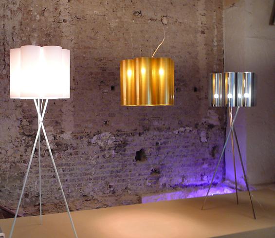 Fabrice Berrux Tubes Lamp