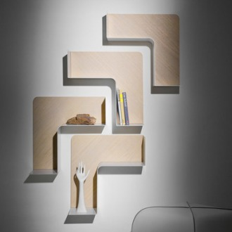 Favaretto & Partners Fishbone Modular Shelf