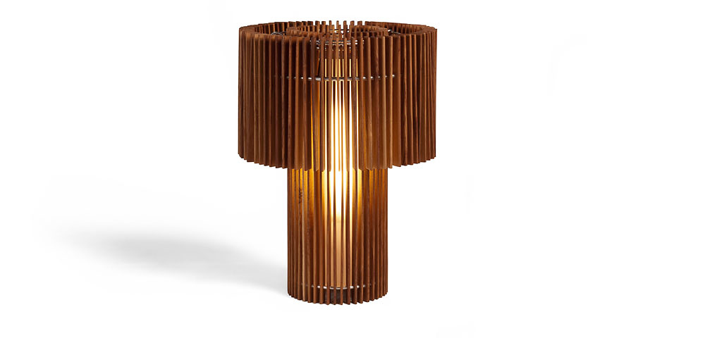 Fernando and Humberto Campana Woodfloor Lamp