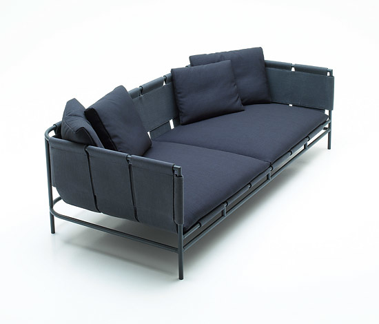 Beautiful Francesco Rota Canvas Sofa
