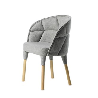 Fredrik Färg and Emma Marga Blanche Emily Easy Chair
