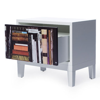 Front Bookshelf Sidetable