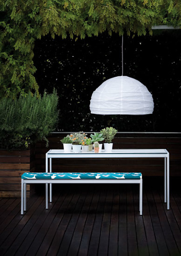 Gae Aulenti Sanmarco Table and Bench