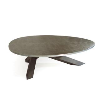 Gerard Der Kinderen Crosstable 3-beam Zinc Table