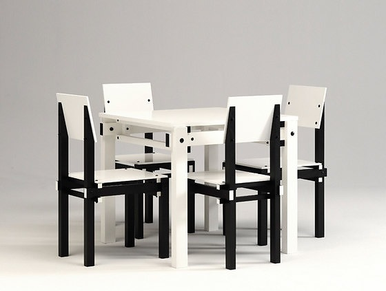 Gerrit Thomas Rietveld Military Furniture Series