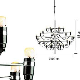 Gino Sarfatti 2097 Lamp