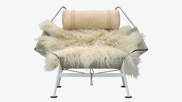 Hans J. Wegner Pp225 The Flag Halyard Chair