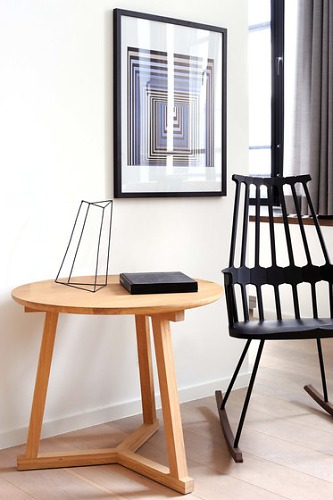 Heidi Earnshaw Oak Tripod Table