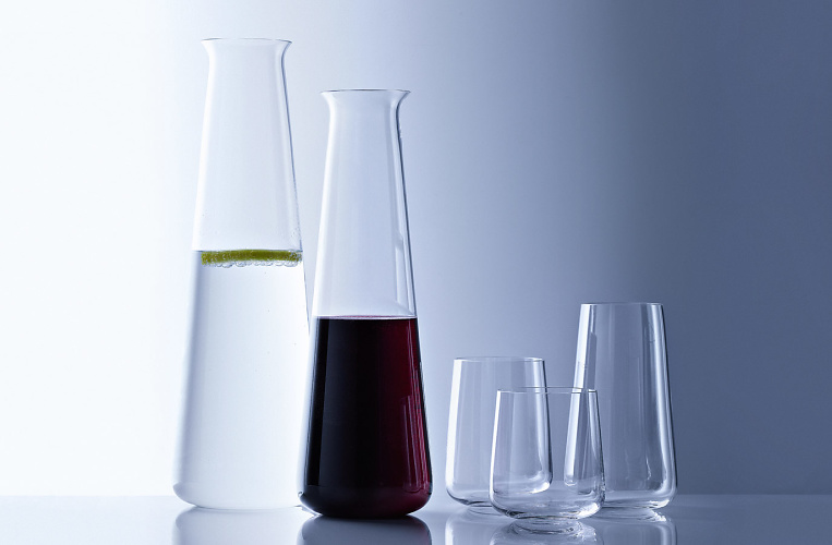 Herbert Schultes Carafe and Glasses