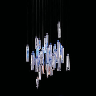 Ingo Maurer and Ron Arad TU-BE Lamp