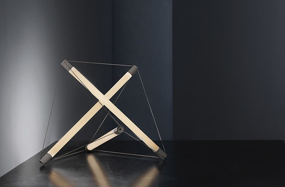 Ingo Maurer and Peter Hamburger Light Structure Lamp Collection