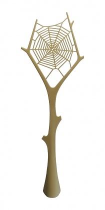 Invotis Orange Studio Spider Web Fly Flapper