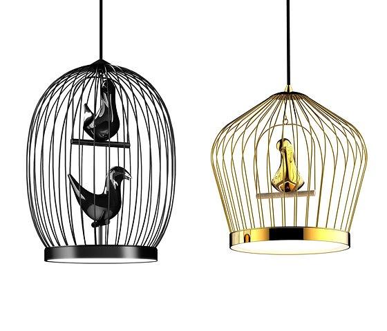 Jake phipps twee t lamp - Suspension cage oiseau ...