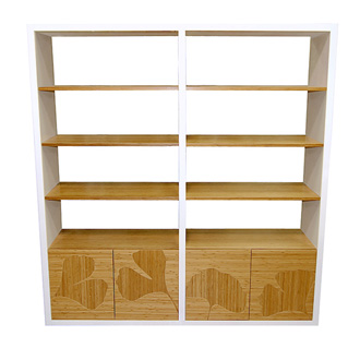 James Sanderson and Michael Iannone Gingko Shelving