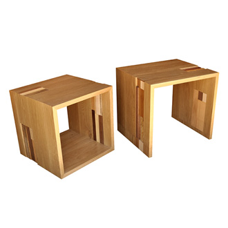 James Sanderson and Michael Iannone Scrappers Nesting Tables