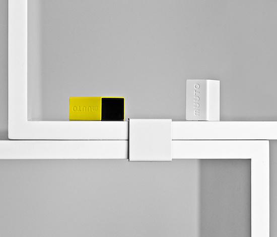 JDS Architects Stacked Shelf System