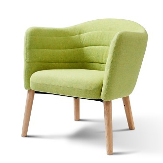 Johannes Foersom and Peter Hiort-Lorenzen Lemon Armchair