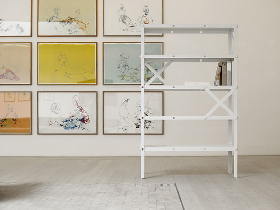 Johannes Norlander Cano Shelving System