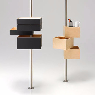 John Ritschl-Lassoudry and Samantha Ritschl-Lassoudry Swing Shelf
