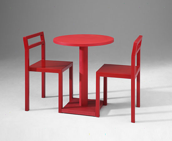 Komplot Design, Boris Berlin and Poul Christiansen NON Chair