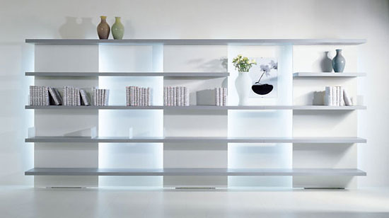 Lodovico Acerbis New Concepts Shelving Units